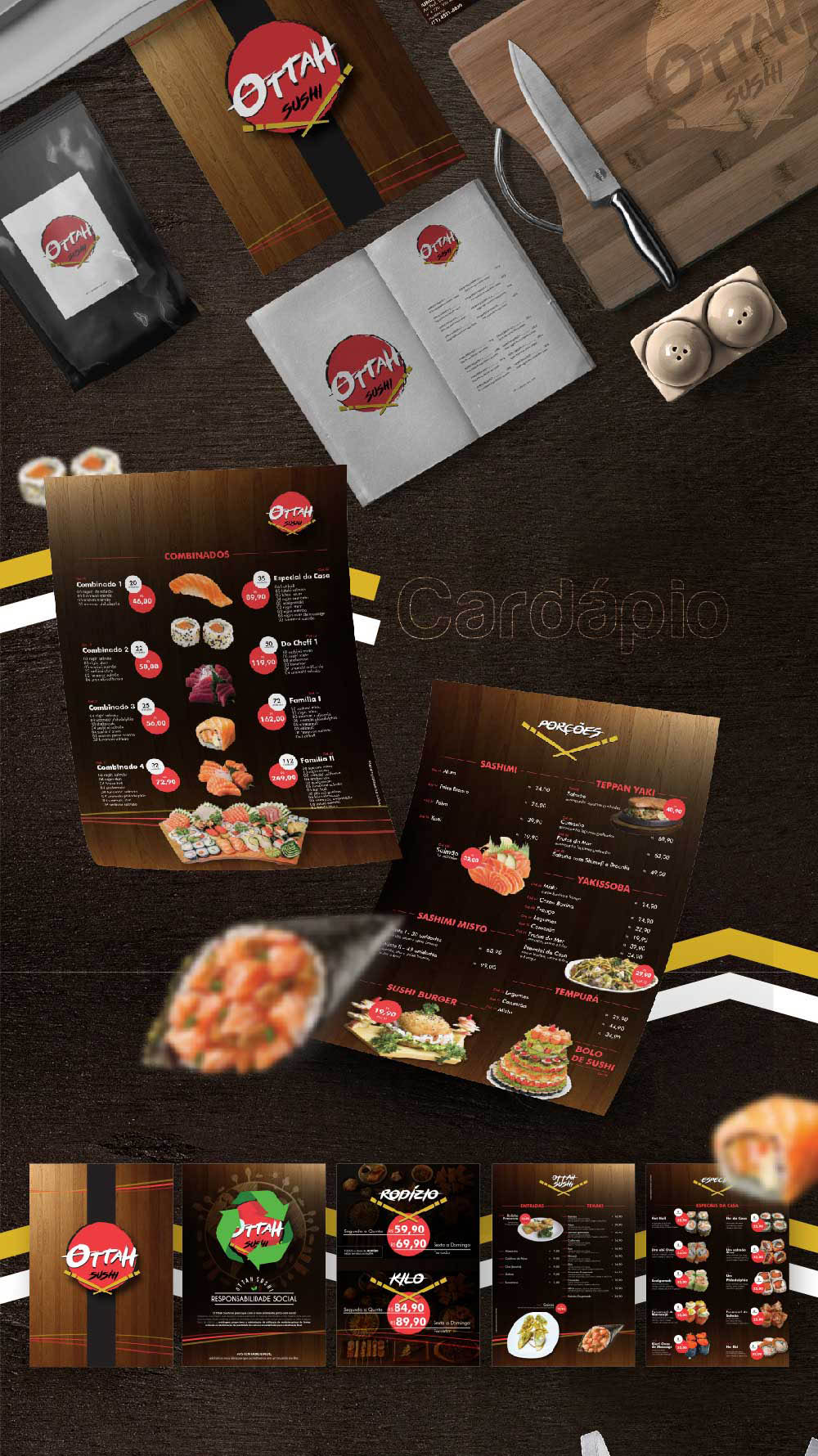 portfolio - ottah sushi